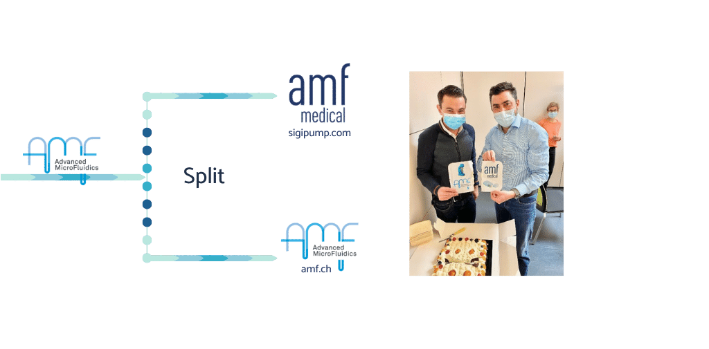 spin off amf medical and advanced microfluidics