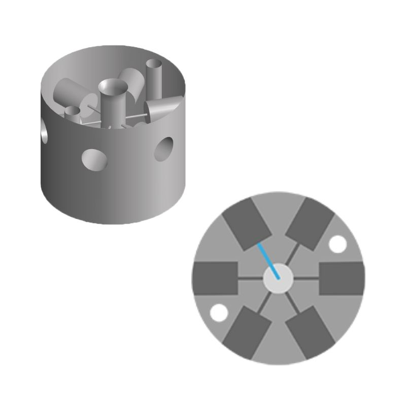6-ports-microfluidic-valve
