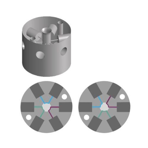 6-ports-microfluidic-switch-valve