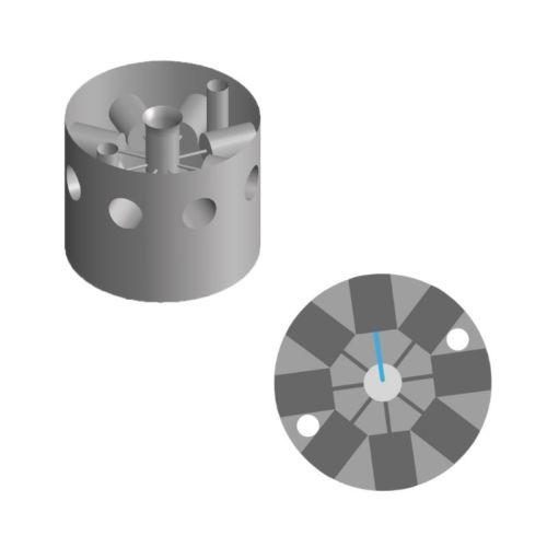 8-ports-microfluidic-valve